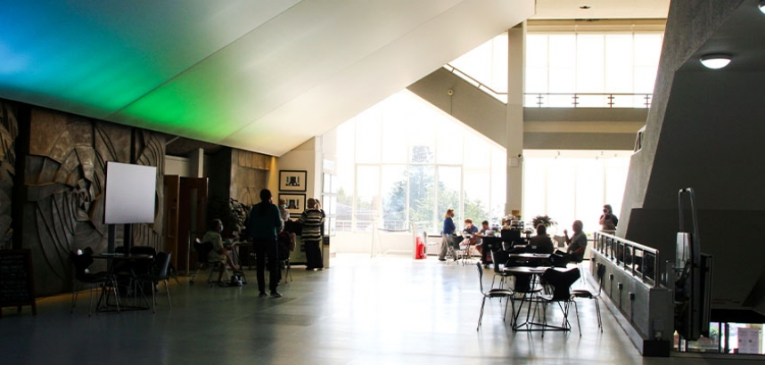 A photo of the Arts Centre foyer
