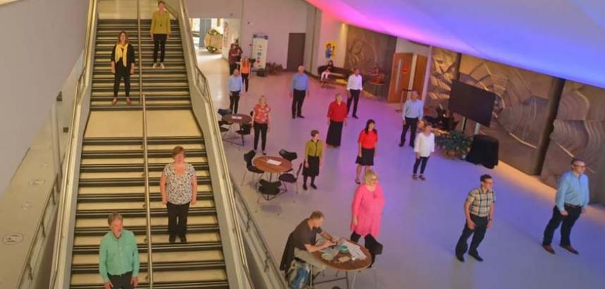 Cor ABC in the Arts Centre