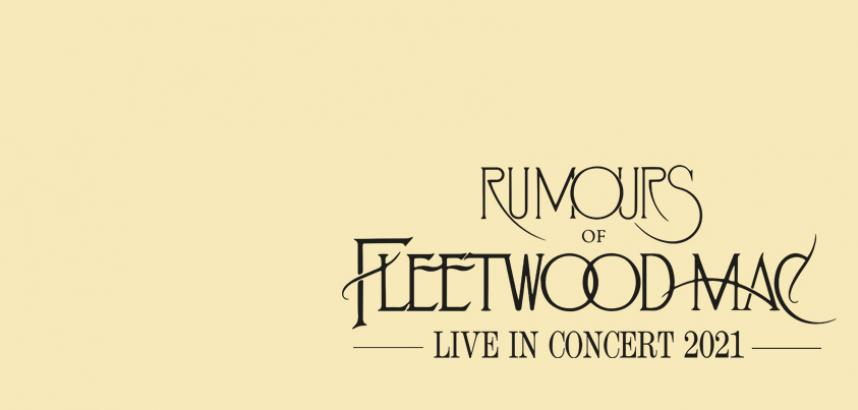 The show logo - in classic Fleetwood Mac font - against a cream-coloured background.