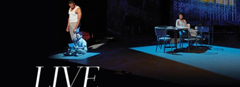 Scene from the Met opera Fire Shut Up in my Bones Met Opera