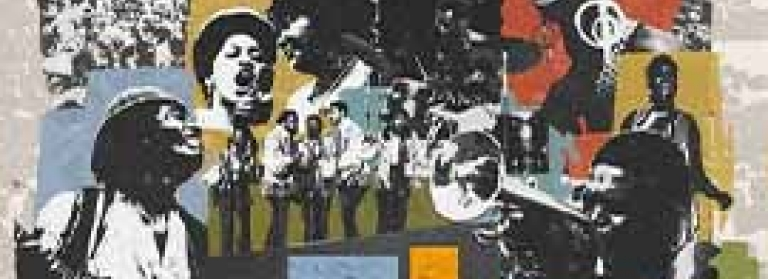 Musicians from 1969 in the poster for Summer of Soul