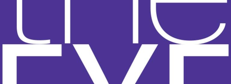 The Eye Festival Logo in purple