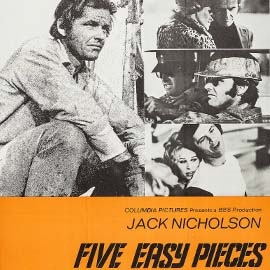 Jack Nicholson featured in poster