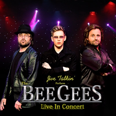 Members of the Bee Gees cover band Jive Talkin