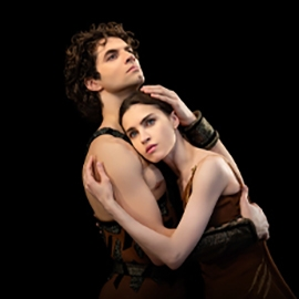 Dancers from Bolshoi Ballet's Spartacus