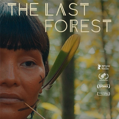 Poster for The Last Forest showing a woman's face