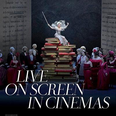 Scene from the Met Opera Cinderella