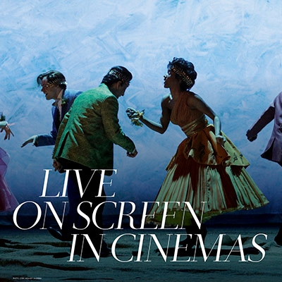 Dancers from Eurydice at the Met Opera. Text reads 'Live on screen in Cinemas'