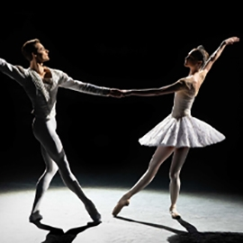 Dancers from the Bolshoi Ballet in Jewels