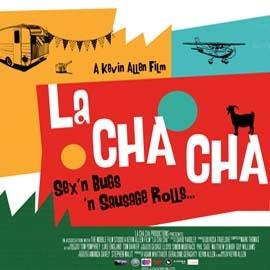 Colourful poster for La Cha Cha