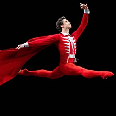 Dancer in The Nutcracker from Bolshoi Ballet