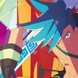 A character from animated film Promare