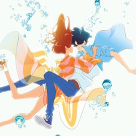 Minato and Hinako from Ride Your Wave animated film