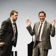 Ben McAteer and Nick Sharratt by Bill Cooper