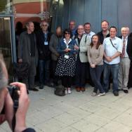 The group photo of the speakers