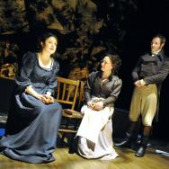 Rebecca Hutchinson, Andrew Dowbiggin and Viktoria Kay