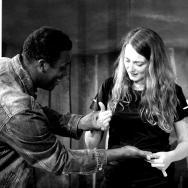 Sophie Stone and Choreographer Junior Jones © Kavi Briede