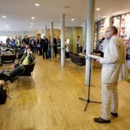 The opening ceremony, David Alston speech