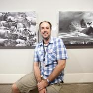 Andy Rouse in the gallery