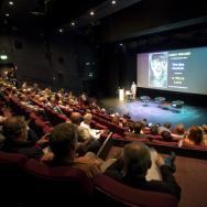 The full auditorium