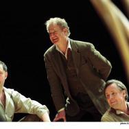 L-R Simon Nehan, Owen Teale (First Voice), Richard Elfyn