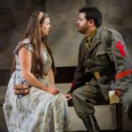 Welsh Soprano Elin Pritchard (Micaela) & Portugese Tenor Leonel Pinheiro (Don Jose) Copyright Robert Workman