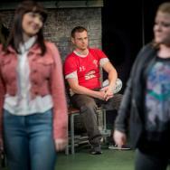 Katie Elin-Salt, Dan Hawksford & Lauren Roberts. Source: Robert Workman / National Theatre Wales