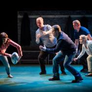 Katie Elin-Salt, Patrick Brennan, Rhys ap William, Daniel Hawksford & Bethan Witcomb. Source: Robert Workman / National Theatre Wales