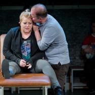 Lauren Roberts & Patrick Brennan. Source: Robert Workman / National Theatre Wales