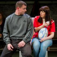 Daniel Hawksford & Katie Elin-Salt. Source: Robert Workman / National Theatre Wales