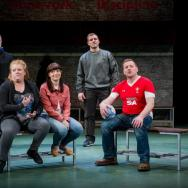 The cast. Source: Robert Workman / National Theatre Wales