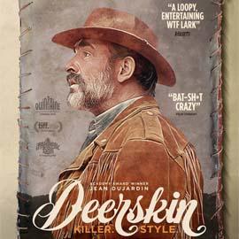 Jean Dujardin in the Deerskin poster