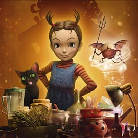 Movie Poster for Earwig and the Witch