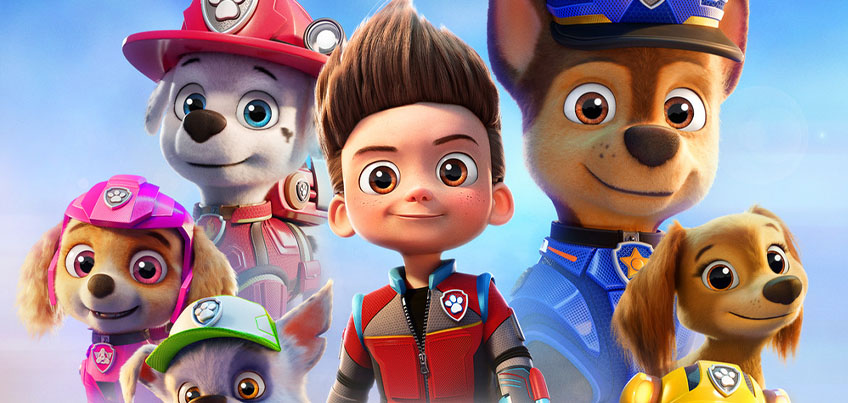 Characters from the animated film Paw Patrol