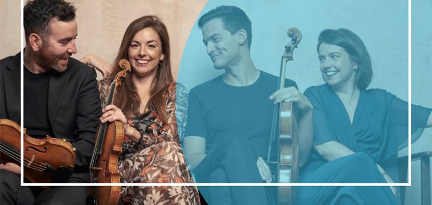 Photograph of the Solem Quartet